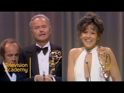 Harvey Korman and Brenda Vaccaro Win Outstanding Supporting Actor and Actress  Emmys Archive 1974