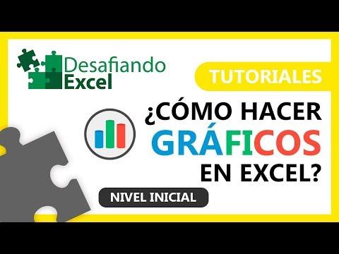 ¿Cómo hacer GRÁFICOS en Excel? | Tutoriales de Excel #12