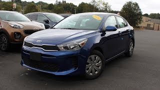 2018 Kia Rio S Sedan: In Depth First Person Look