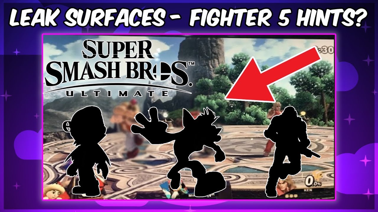 Smash Bros. Ultimate , NEW MII COSTUMES LEAKED? HINTS At Fighter 5?