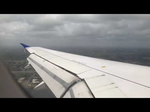 United Airlines Flight 1558 Landing at Fort Lauderdale-Hollywood Int'l