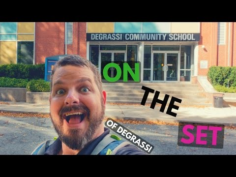Exclusive Tour of the Degrassi Set, (Epitome Picture) At DHX Media