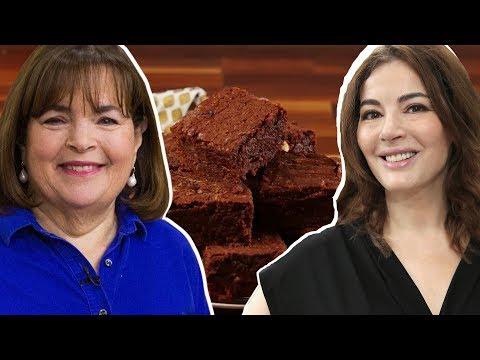 Ina Garten Vs. Nigella Lawson: Whose Brownies Are Better?  Celebrity Snackdown  Delish