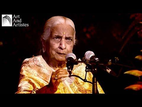Vidushi Girija Devi | Kajari | Lage Badariya | Semi Classical | Jalsa Music | Art and Artistes
