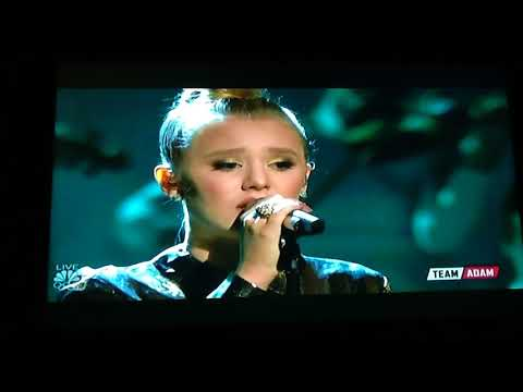 Addison AGEN- Performance Of Both Sides Now- The Voice , Dec11, 2017