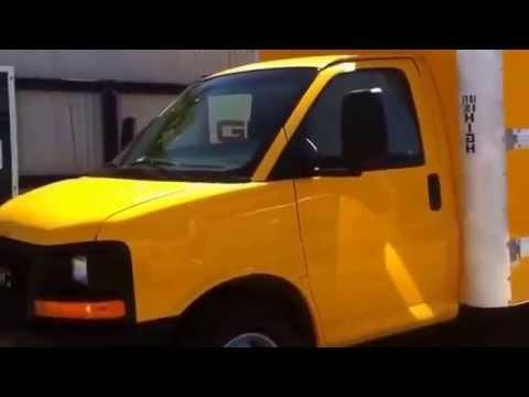2006 GMC SAVANa 3500 CAJA SECA DE 15 PIES. en venta. Camiones Económicos de Tijuana