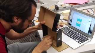 Arts & Bots Workshop 7: Workshop Building Montage