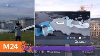"""Смотреть видео """"Утро"""": облачная погода с прояснениями ожидается в Москве 15 апреля - Москва 24 онлайн"""