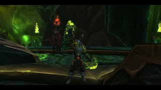 World of Warcraft Unlocking the Hidden Vengeance Weapon Appearance Demon Hunter Legion Guide