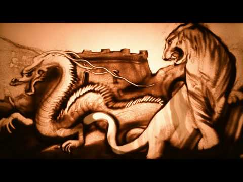 """Sand artist Kseniya Simonova - """"Hello to China!"""" (+sand animation """"Epic China)"""