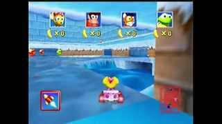 Diddy Kong Racing 22 - Adventure Two: Snowflake Mountain Trophy Race and Icicle Pyramid