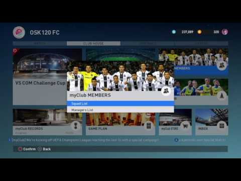 PES2017 PS4 How