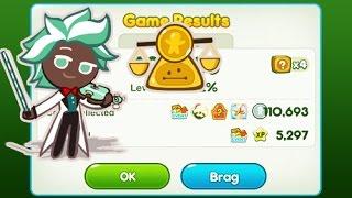 LINE Cookie Run - Mint Choco Coin Farming. (Over 100k)