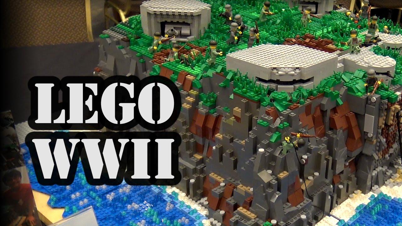 LEGO Pointe du Hoc WWII D