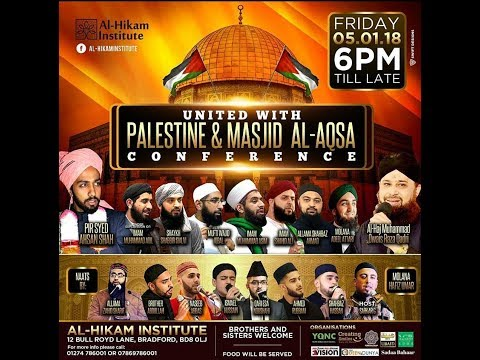 United With Palestine & Masjid Al Aqsa | Al Hikam Institute | Bradford