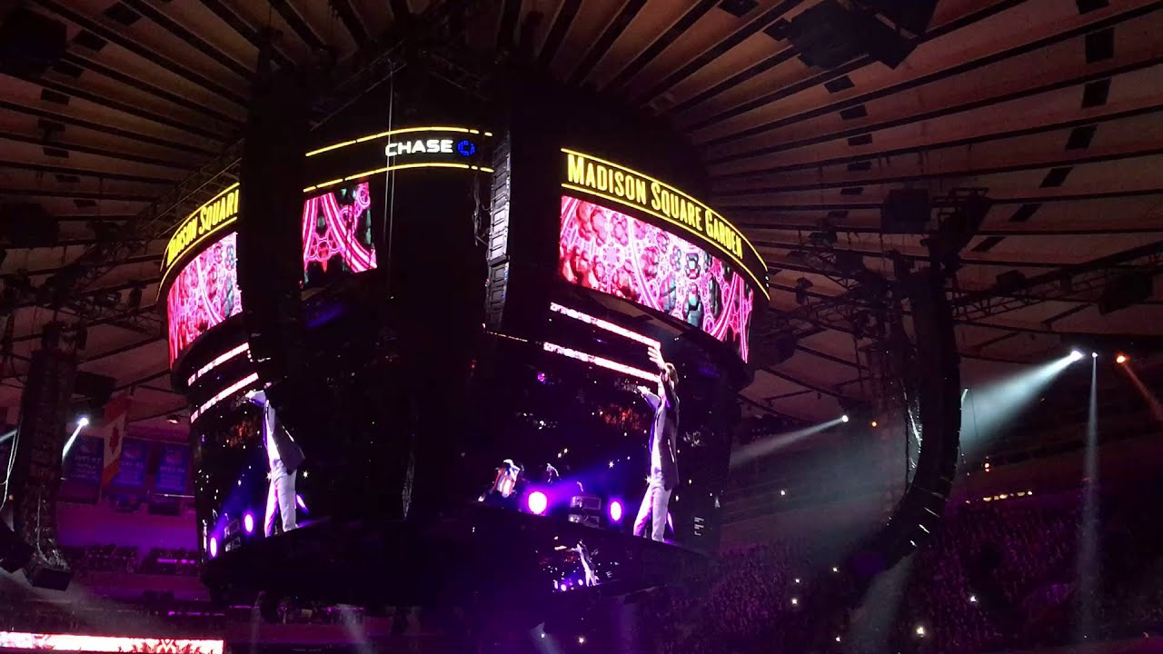 Marc Anthony Concert At Madison Square Garden Youtube