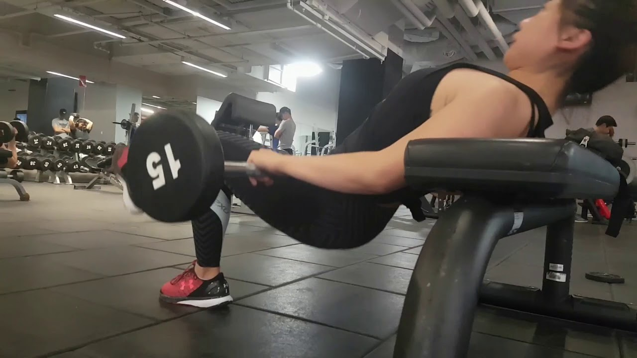 Kristen: Single-Leg Hip Thrust