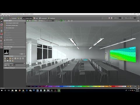 Office lighting design tutorial youtube