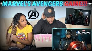 "Marvel's Avengers: ""A-Day"" Official Trailer E3 REACTION!!!"