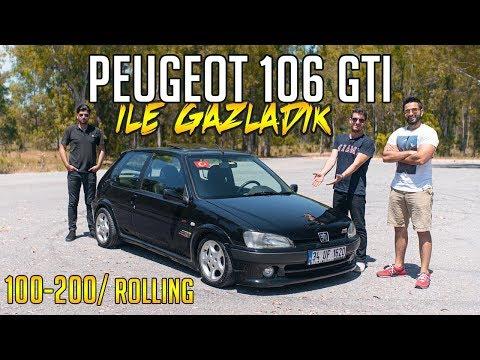 Peugeot 106 GTI Ile Gazladık / 100-230 KM TOP Speed / Hızlı Rolling Gecesi