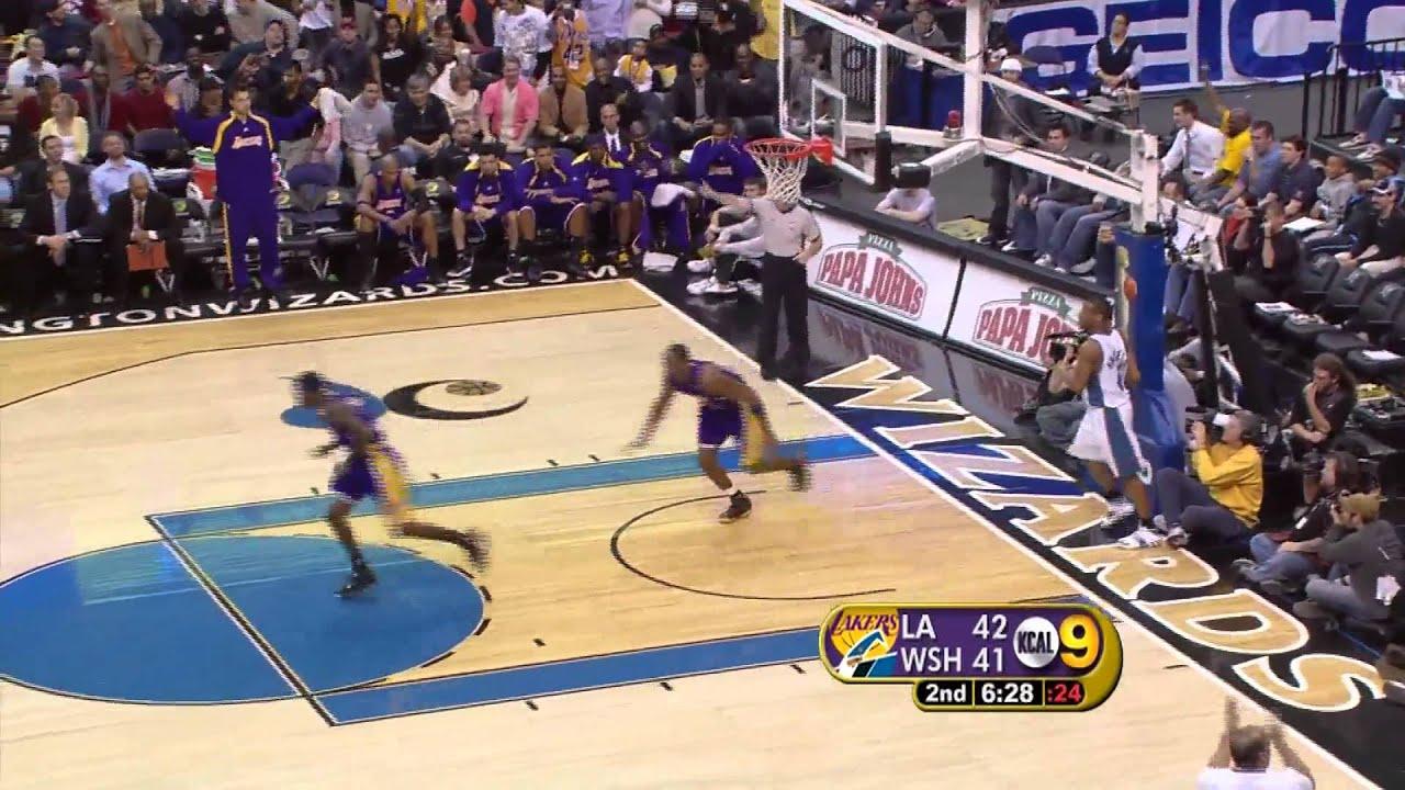 Kobe Bryant 360 Dunk - YouTube