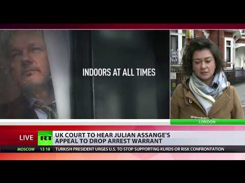UK court will hear Julian Assange's appeal to drop arrest warrant