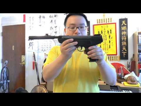 GAMO P-900 IGT Gas Piston .177 Cal Air Pistol Review And Shooting Test