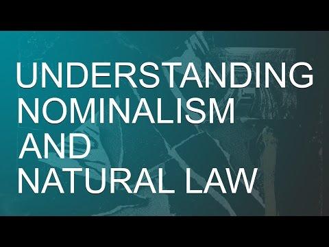 Understanding Nominalism & Natural Law - Matt Raphael Johnson