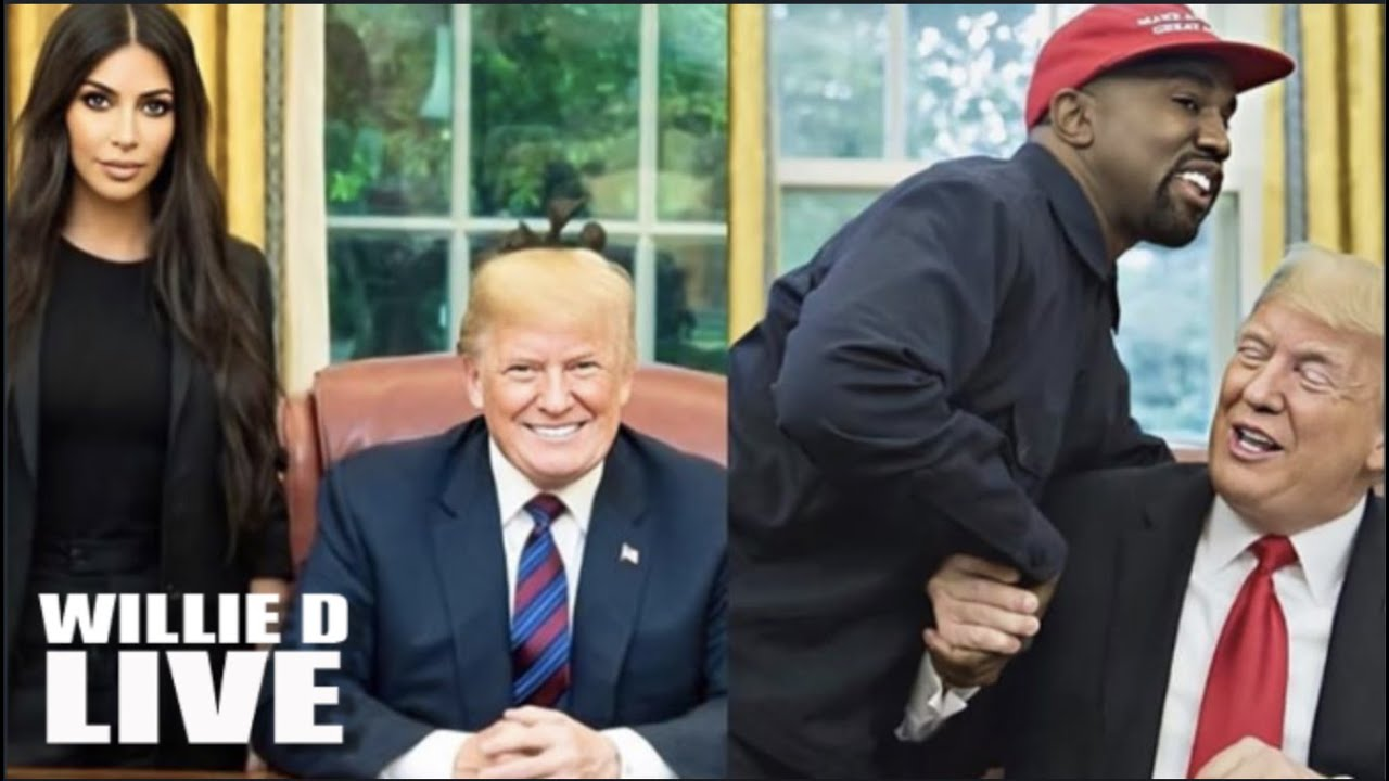 Kanye West: I No Longer Support Trump After I Learned He Hid In The Bunker!!