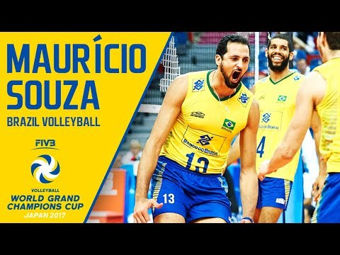 Mauricio Souza | Volleyball Highlights | Champions Cup 2017