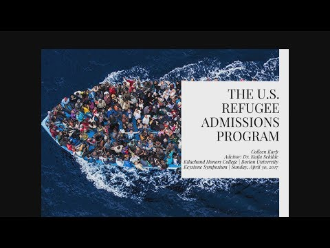 The U.S. Refugee Admissions Program