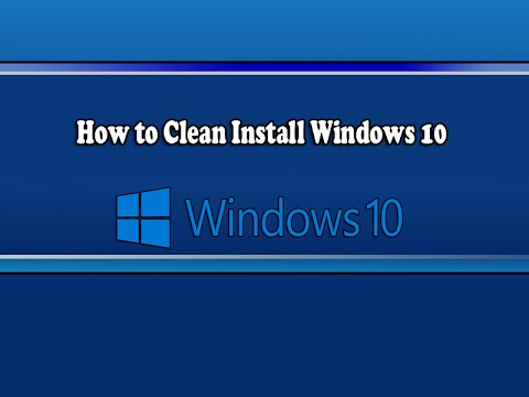 clean install windows 10 new motherboard