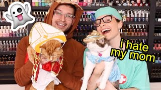 Download Dressing up my Cats in Holoween Costumes (Year 3) Mp3 and Videos