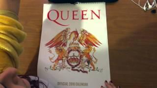 Baixar Queen Official Calendar 2016