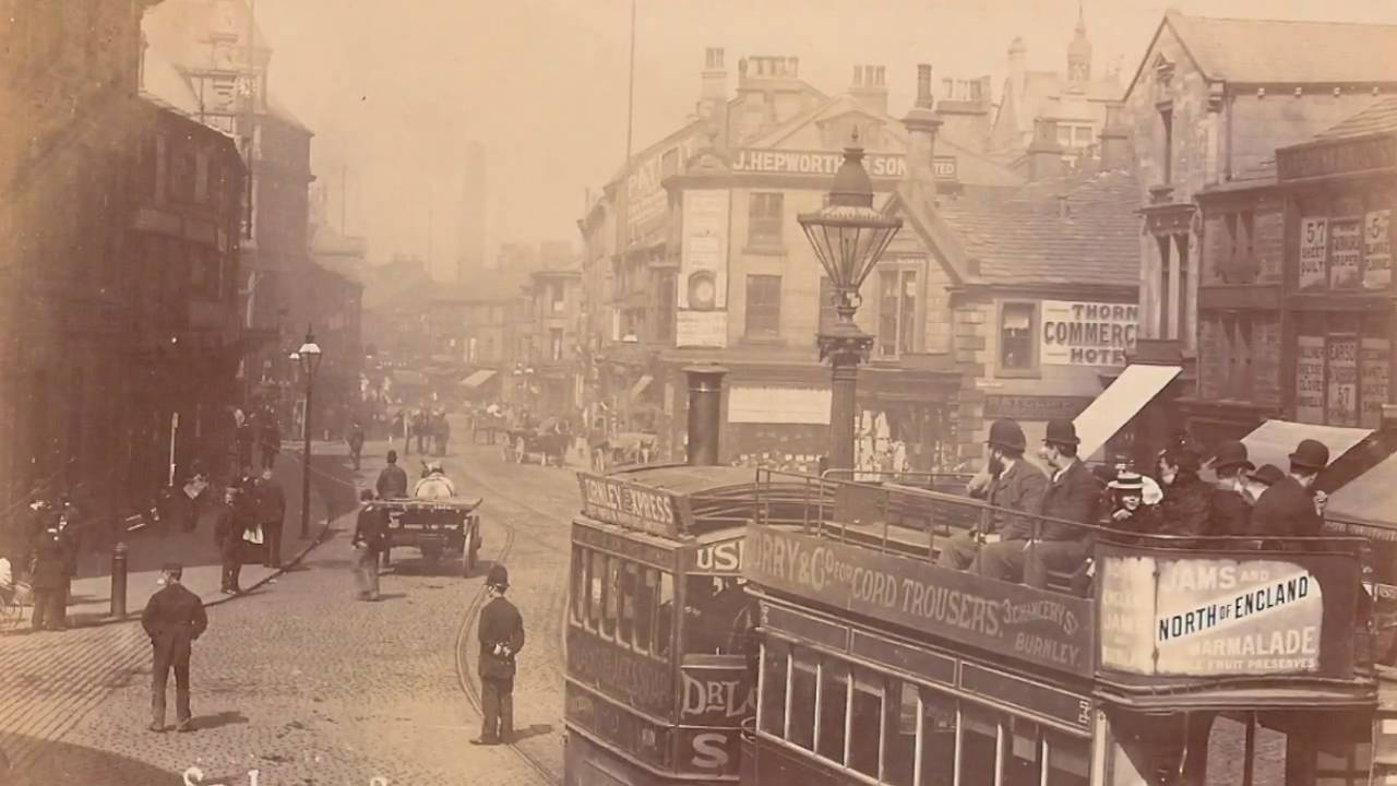 Postcards of old Burnley, Lancashire - YouTube