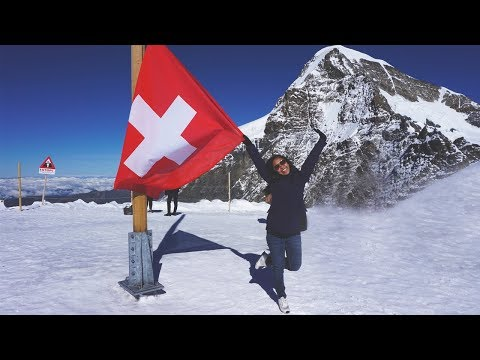 Jungfraujoch: Top of Europe Tour I Solo Travel Switzerland (Eurotrip Part 7)