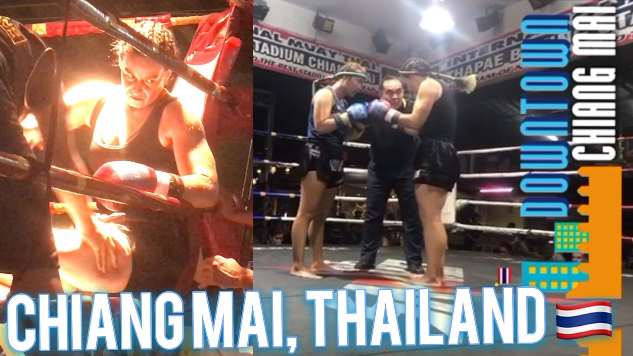 The Muay Thai Experience ???Thaphae Boxing Stadium, Chiang Mai Thailand