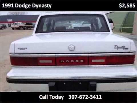 1991 dodge dynasty used cars sheridan wy youtube for Sheridan motor buick gmc