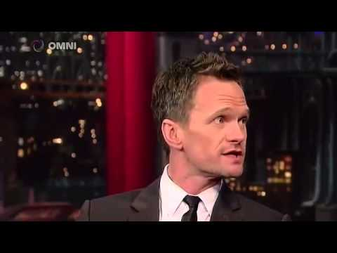 Neil Patrick Harris on David Letterman March 30th 2015 Full Interview