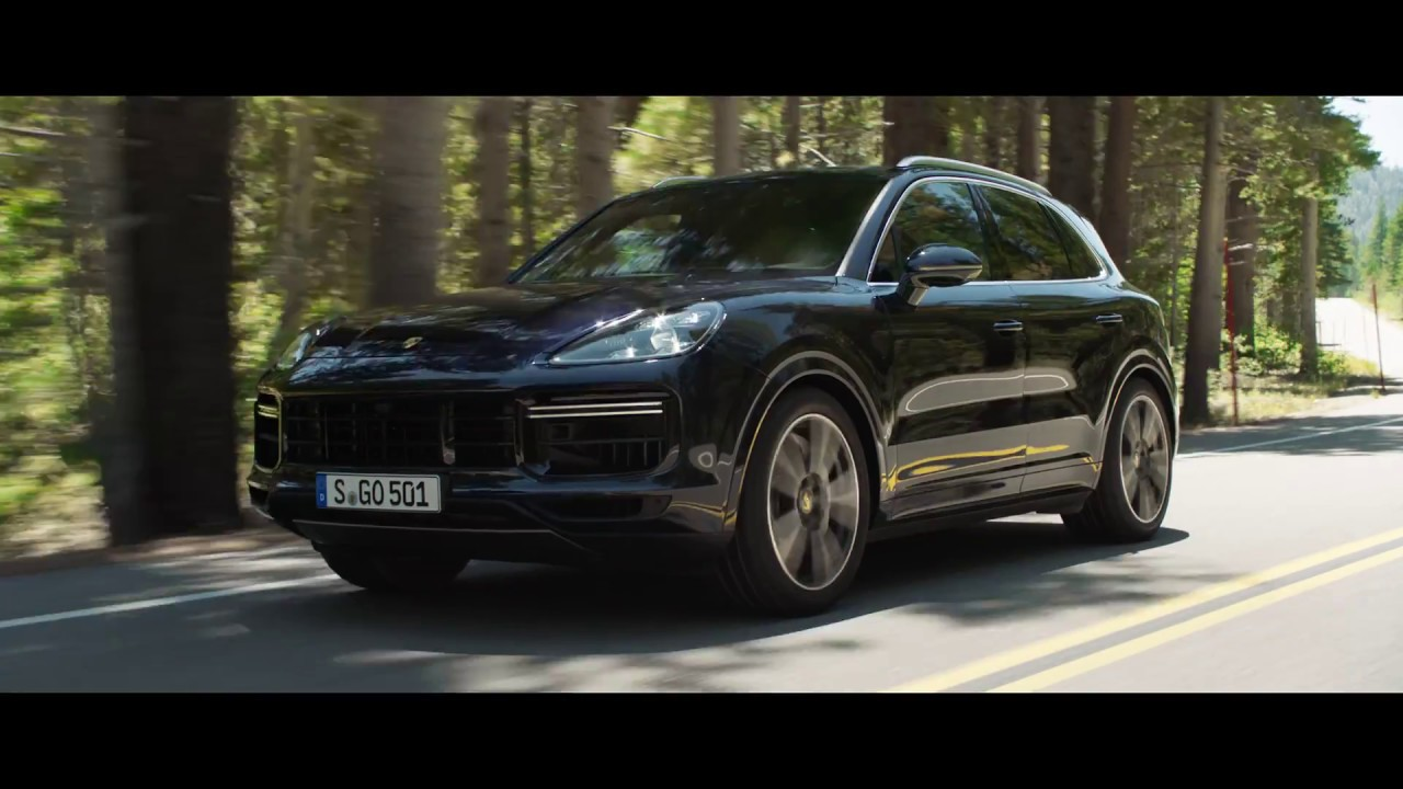 salon de francfort porsche cayenne turbo 2018 youtube. Black Bedroom Furniture Sets. Home Design Ideas