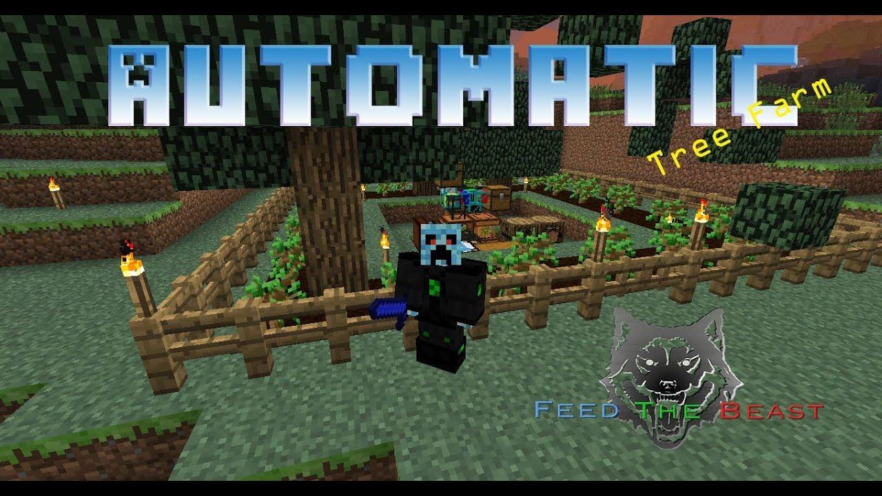 FTB Automatic Tree Farm Tutorial