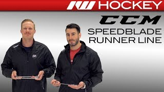 CCM SpeedBlade Runner Line (HyperGlide, Black, +2 and Stainless)