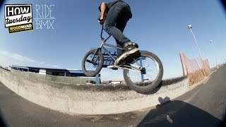 How-Tuesday: Feeble 180 Backward Feeble W/ Drew Hosselton   RideBMX
