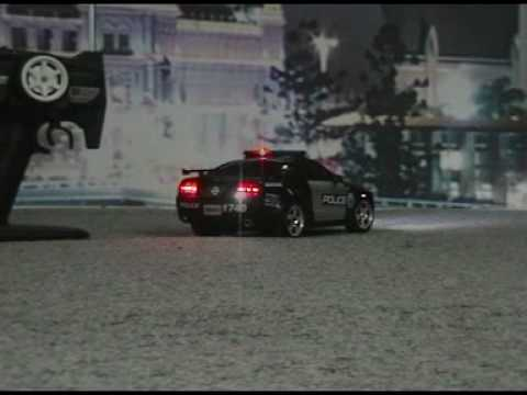 1 16 Rc Ford Mustang Police Car Youtube