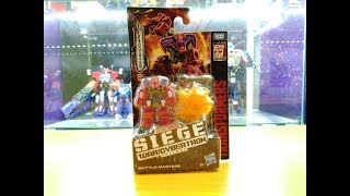 Обзор трансформера Smashdown - Siege WfC - Battle Master - Hasbro. Музей Р-ТФ.