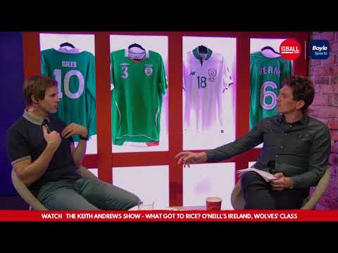 Kevin Kilbane responds to Richie Sadlier remarks over Declan Rice situation