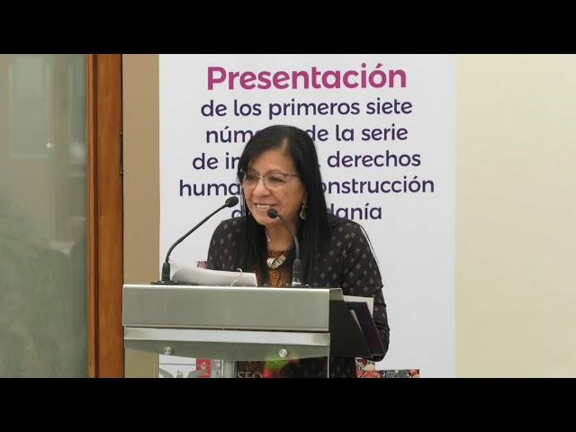 Discurso de Nashieli Ramírez en la presentación de la serie INCLUSIVE del IECM