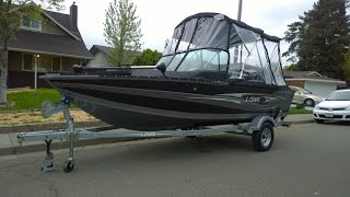 Lowe Boats 2016 Fishing Machine 165 walk around video and owner review (detailed)