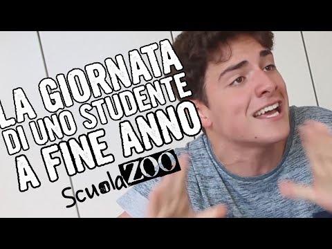 La GIORNATA di uno STUDENTE a FINE ANNO - UmorismoKIWI #ScuolaZoo