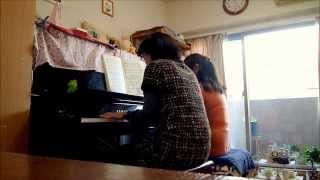 「PIANO DUETS CARPENTERS」(シンコーミュージック)を使いました。譜...